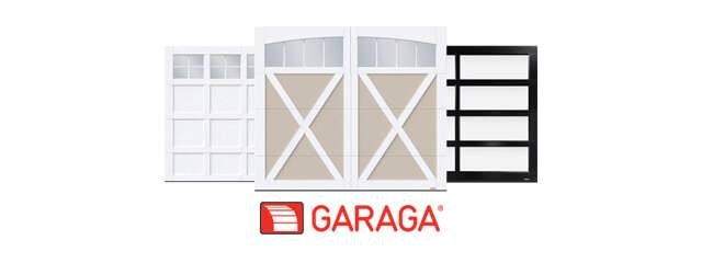Portes de garage Cambridge CC, Eastman E-21 et California